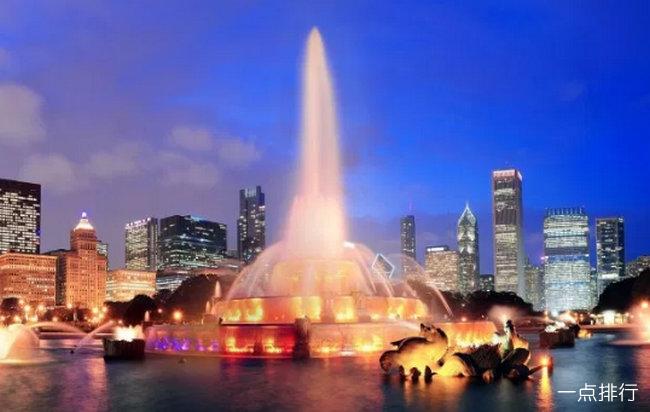 盘点世界最美的喷泉 全球十大喷泉一个比一个漂