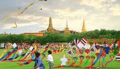 泰国曼谷城市街景