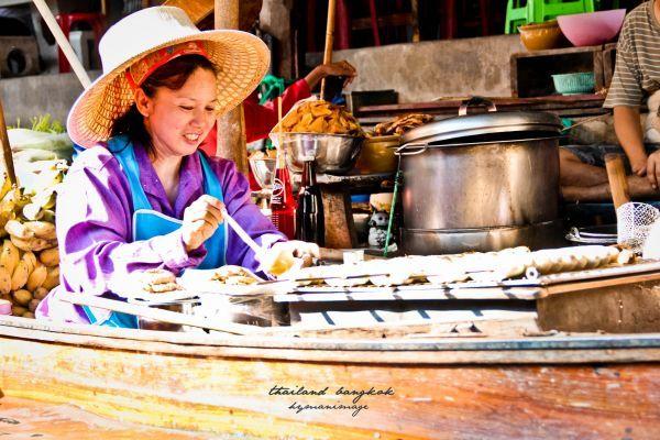 怎么去曼谷丹嫩莎朵水上市场、游玩攻略