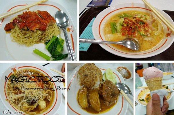 曼谷机场有什么便宜好吃的吃东西的餐厅(24小时