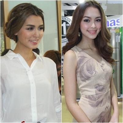 总结泰国撞脸女明星!这也太像了吧!