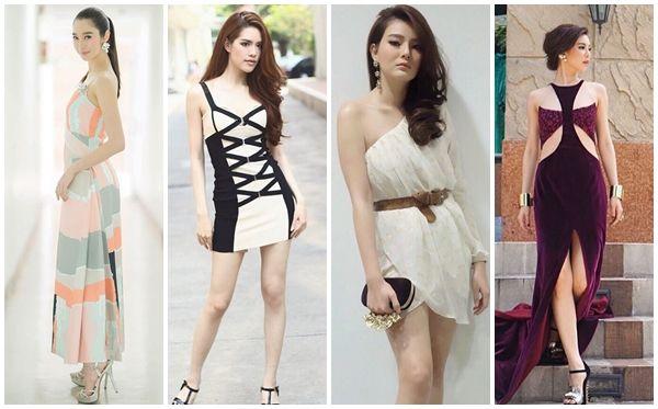 10位皮肤白的反光的泰国女明星