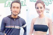 泰国低调的情侣艺人同台