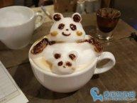 曼谷特色下午茶美食:Two Spoons Tale咖啡店的3D咖啡
