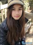 泰国混血小美女古灵精怪!大写的一个美!
