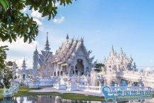 清迈必去的景点童话般的城堡--清莱白庙