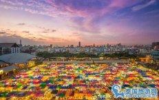 泰国曼谷有名又好玩的夜市--Ratchada 火车市集