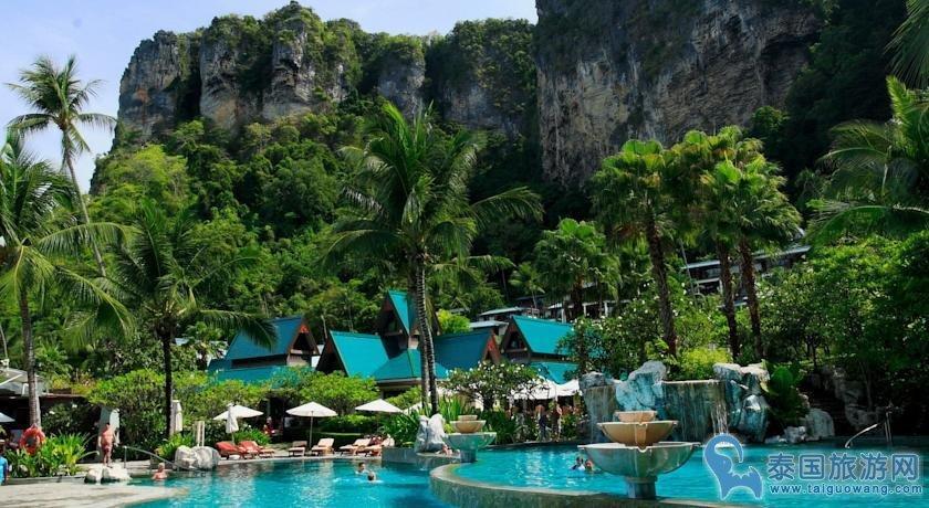 甲米五星豪华酒店推荐--森塔拉海滩别墅度假酒店