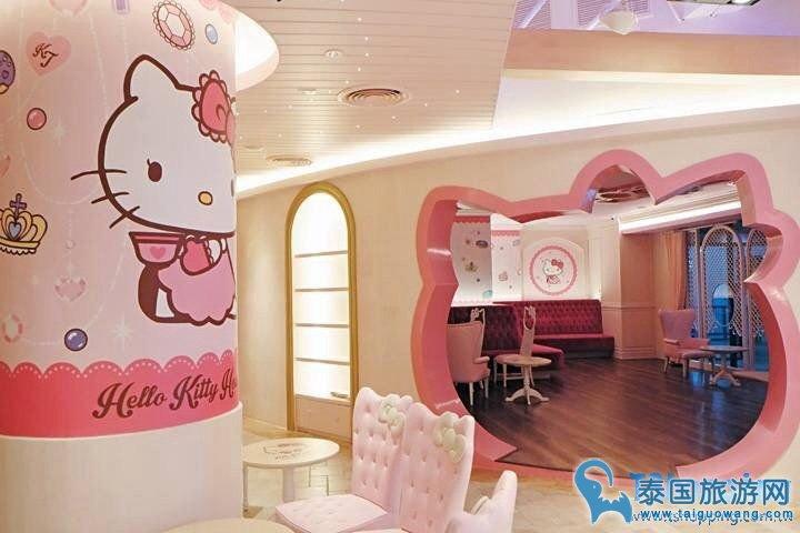 Hello Kitty 必去的主题馆--凯蒂猫甜品馆