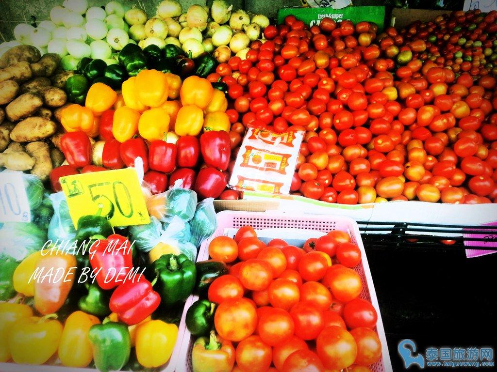 清迈水果天堂--松撇市场