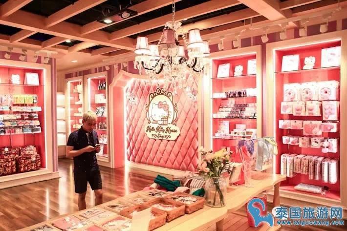少女心的你怎能错过——曼谷Hello Kitty House