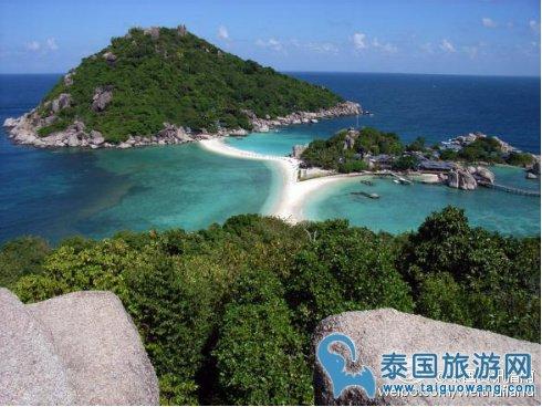 """泰国人少的私人岛屿""""南园岛"""""""