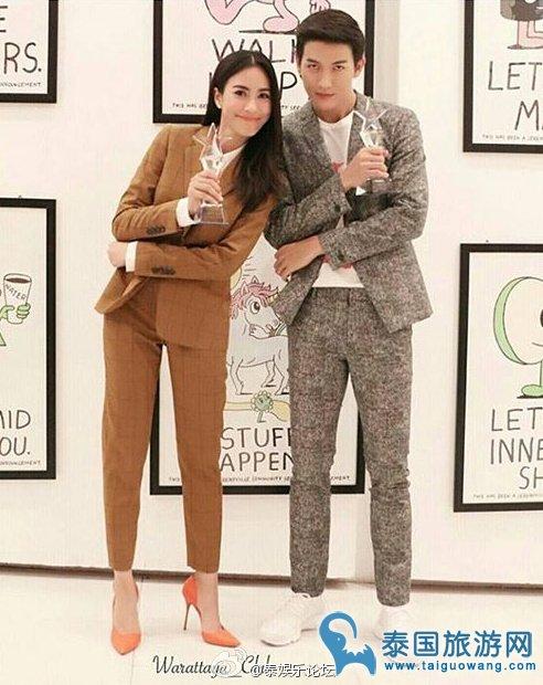 泰星Push与Jui同场出席颁奖典礼