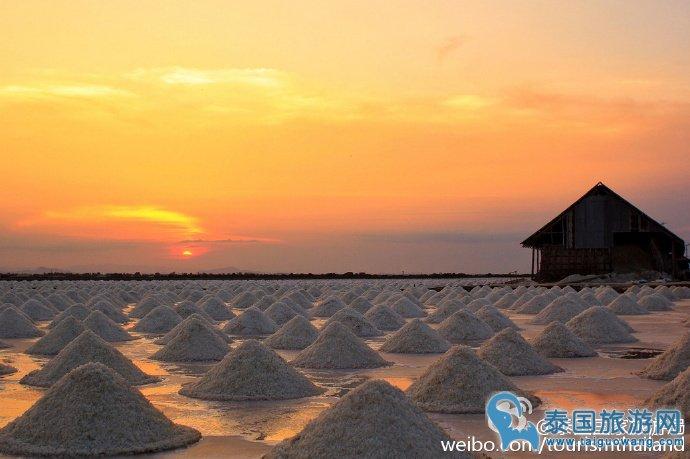 摄影爱好者最喜欢的泰国最特色海盐景观