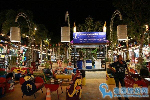 苏梅岛的后起之秀:渔夫夜市