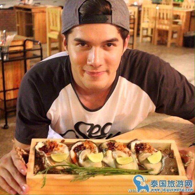 泰国男明星开的美食餐厅2