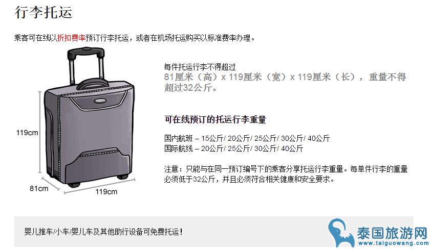 关于亚航行李规定中背包和箱子的常见问题解答
