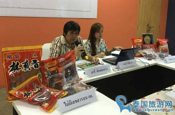 惊!曼谷唐人街猪肉脯等制品被查防腐剂超标!