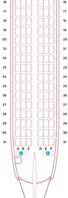 亚航怎么选座位好?手把手教你选哪个座位好