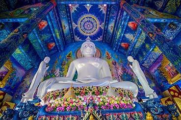 清莱除了白庙也非常值得一去的龙苏町寺