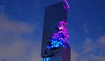 """泰国最新第一高楼""""大都会""""完美落成"""