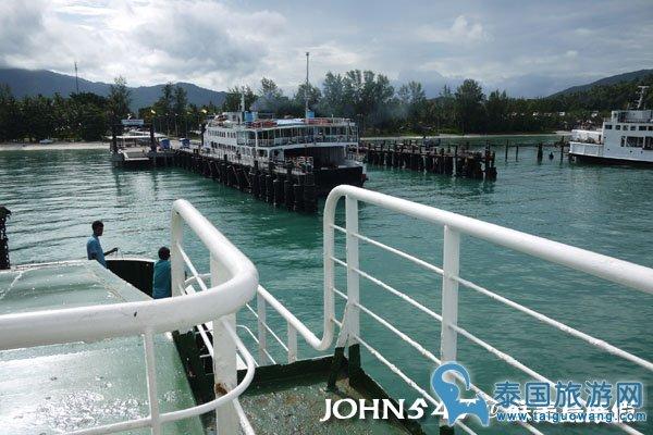 泰国曼谷到苏美岛自由行-3.搭渡轮6