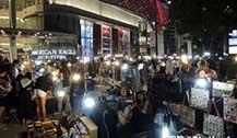 2016清迈新夜市聚点:清迈宁曼MAYA夜市