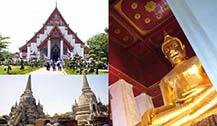 大城2个值得去的寺庙古迹:帕蒙空博碧寺和帕席桑碧寺