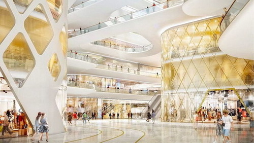 曼谷2017年最新最大购物商场Icon Siam 成为东南亚最大的购物商场