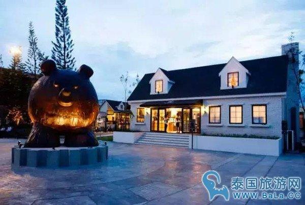 泰国曼谷泰迪熊主题餐厅