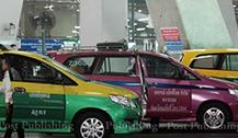泰国出租车将更换新型GPS计价器 游客可直接刷卡付车费