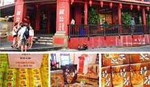 马六甲鸡场街上的特产名店-三叔公San Shu Gong