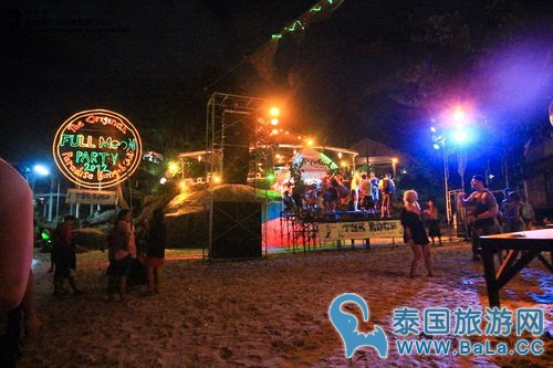 泰国帕岸岛满月派对Fullmoon Party攻略