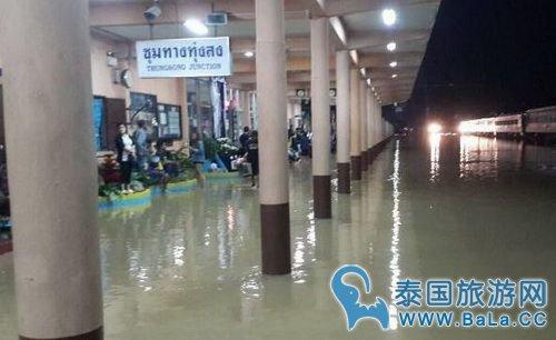 泰国南部今日水灾情况依旧颜值 游客注意及时调整行程