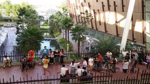 清迈Promenada商场 一个像花园的儿童乐园商场