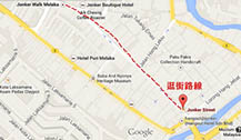 马六甲鸡场街地图