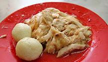马六甲中华茶室(海南鸡饭)餐厅 多汁香甜