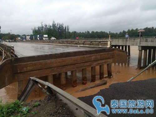 泰国南部大雨洪灾预计17号才会停止 旅游业受重创