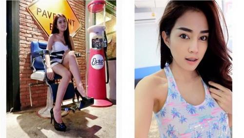 泰国美女理发师太性感 男子排队求理发