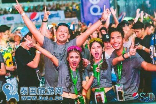 泰国2017泼水节电音大趴-s20音乐节