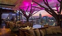 曼谷高空餐厅酒吧Ce La Vi  神秘魅惑主题餐厅
