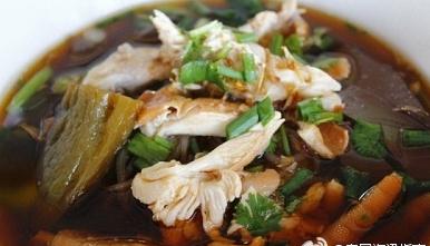 泰国美食苦瓜鸡肉面你吃过吗?