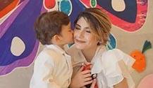 Mike儿子Maxwell大病初愈 母亲Sara担心儿子遗传mike哮喘病