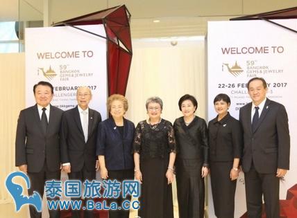 第59届曼谷珠宝首饰展在IMPACT开幕   预计交易额超170亿泰铢