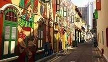 新加坡哈芝巷--最文艺的新加坡涂鸦小清新街道