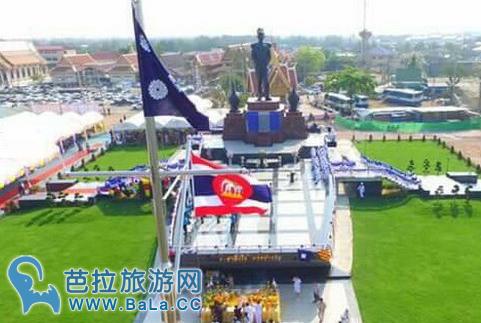 泰国建成最大春蓬将军人像纪念碑