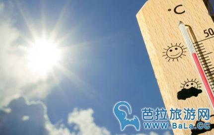 2017年泰国最热天在宋干节期间   最高温度43度