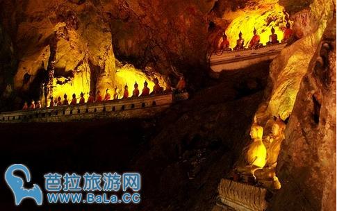 拷龙山洞Tham Khao Luang      泰国最大的卧佛