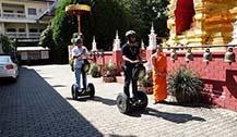 开Segway游清迈古城 除了住摩托车以外的又一个代步好帮手