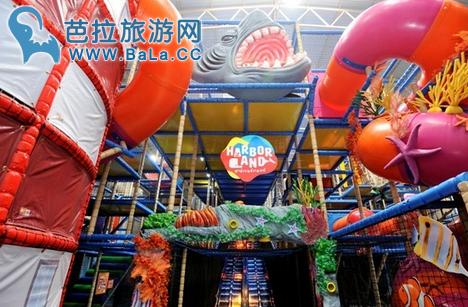 芭堤雅新开商场—Harbor    全东南亚最大的室内游乐场